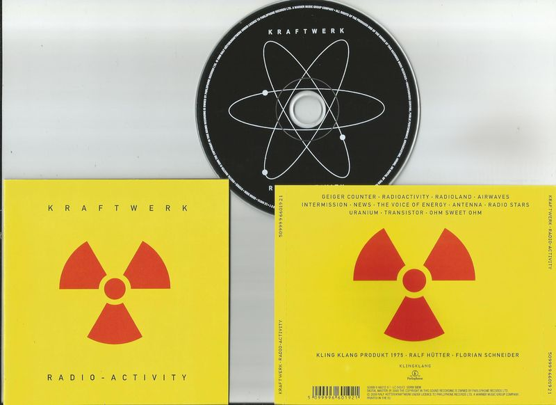 Kraftwerk Radioactivity Vinyl Records and CDs For Sale