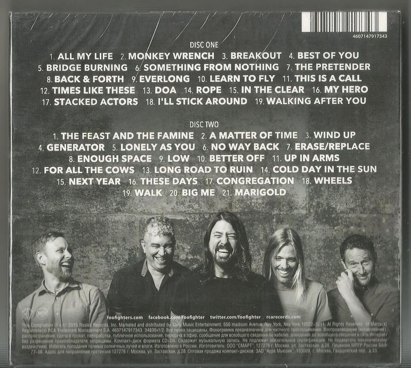 Foo Fighters Greatest Hits Vinyl Records and CDs For Sale | MusicStack
