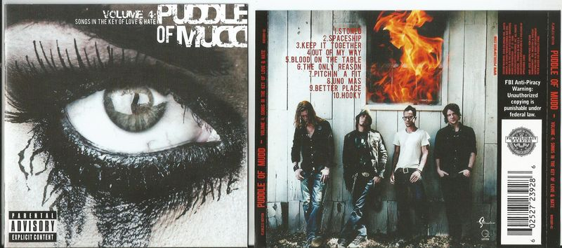 Puddle Of Mudd Volume 4 Vinyl Records and CDs For Sale